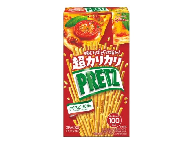 Pretz Super Crispy Pizza 27,5g