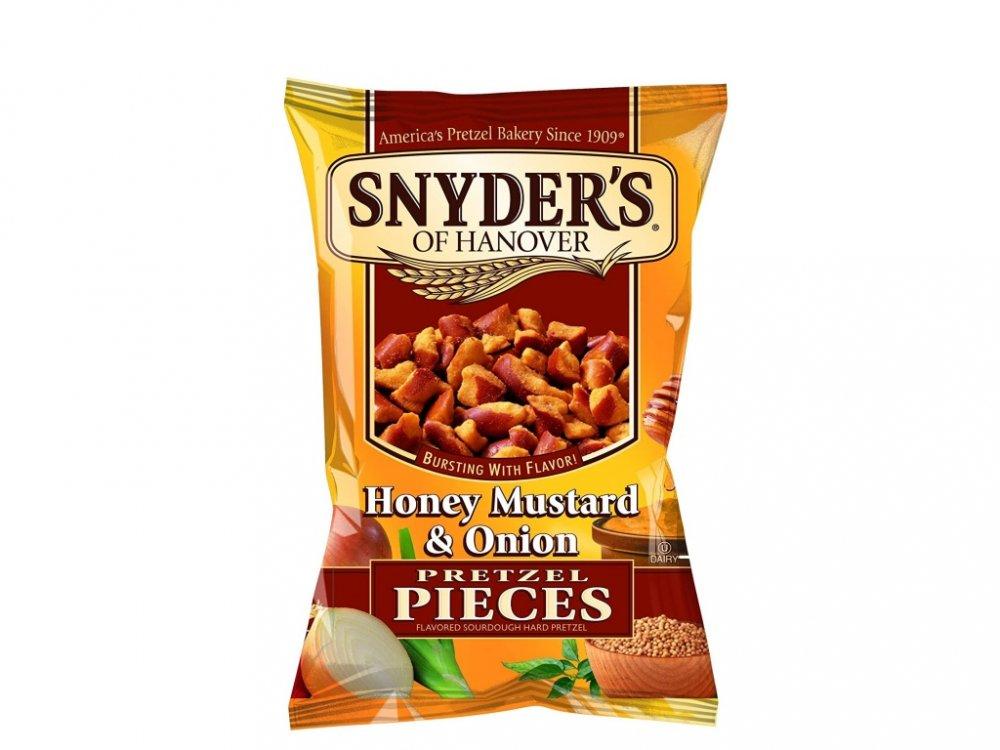 Snyder's Pretzelz Pieces Honey Mustard Onion 125g