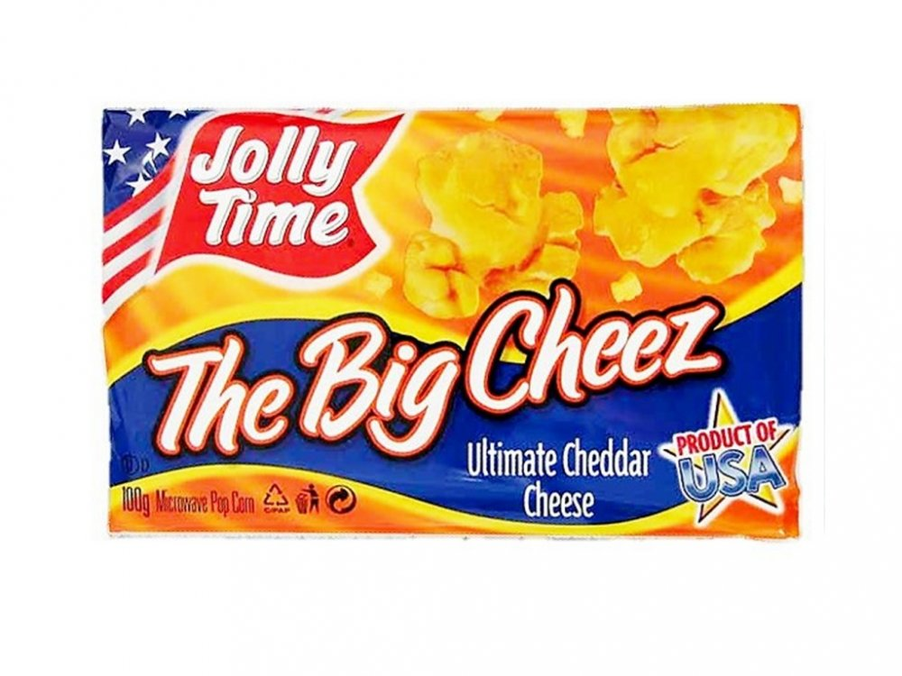 Jolly Time The Big Cheez 100g