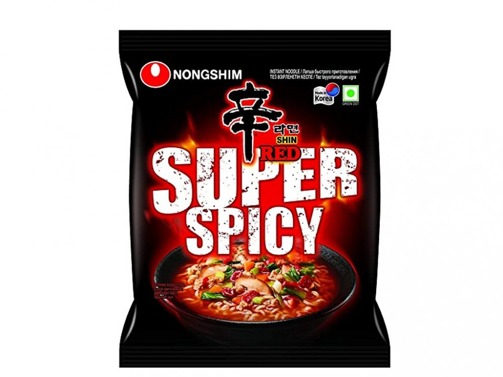 Shin Red Super Spicy Soup 120g