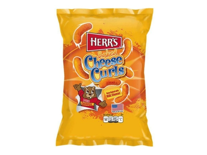 Herr's Baked Cheese Curls 28,4g