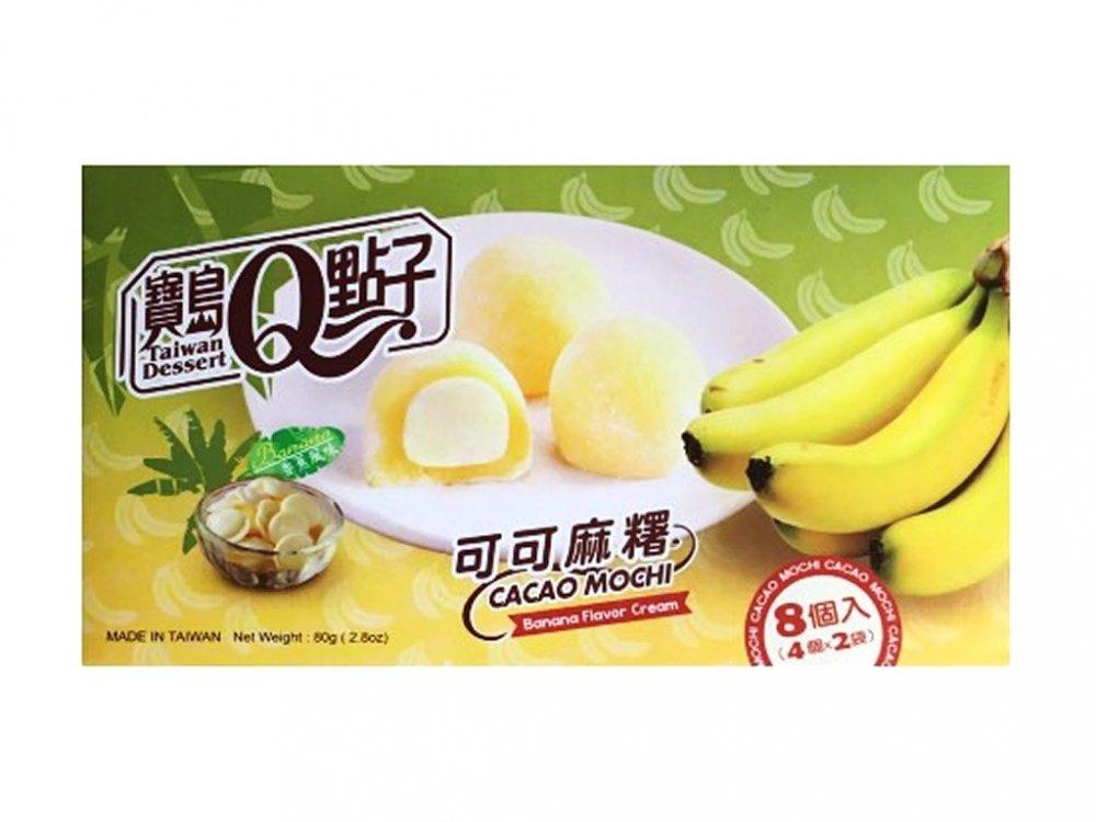 Mochi Cacao Banana 80g